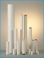 Polypropylene filter cartridges, polyamide (nylon) filter cartridges, filter candles