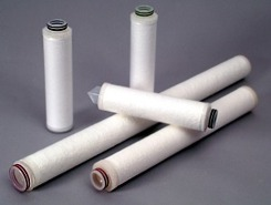 Absolute rated filter cartridges